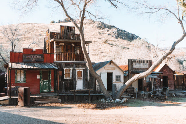 Silver City Ghost Town Bodfish California