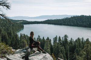 Cascade Falls Trail Lake Tahoe California