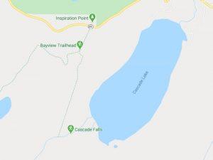 Cascade-Lake-Trail-Tahoe-Map