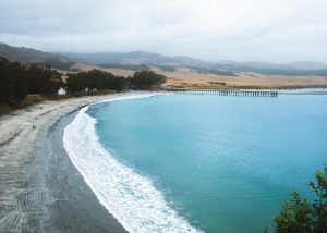 San-Simeon-Pier-William-Randolph-Hearst-Memorial-Beach