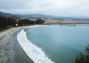 William-Randolph-Hearst-Memorial-Beach-San-Simeon-Pier