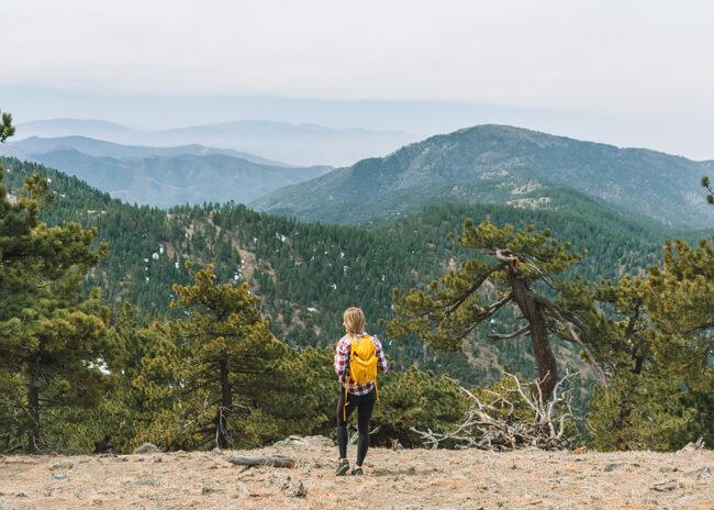 Tehachapi Mountain Trail California
