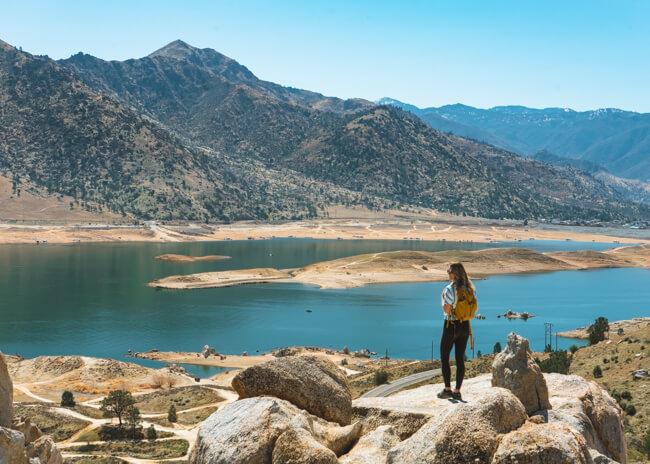 lake isabella peak coso mine trail california