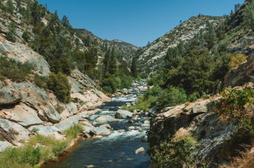 Johnsondale Bridge River Trail